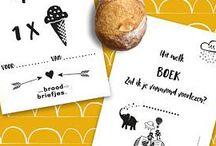 BroodBriefjes / BroodBriefjes zijn briefjes voor in de broodtrommel. Iets liefs voor bij de lunch op school! Ga je mee op BroodBriefjes-avontuur? Hier vind je nieuwe Etsy-BroodBriefjes en onze gratis printables!