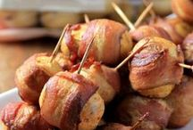 Game Day Recipes / Snacks, hearty dishes and party foods - kick back and enjoy the game with these great recipes!