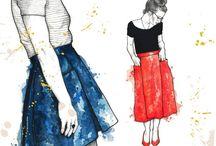 Amy Nicole - Patti Pocket Skirt
