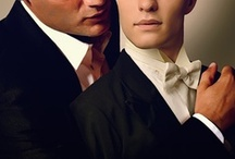 Tea House Tales / My 1930s historical gay romance series set in New York City. Remington Trueblood is the owner of The Purple Rose Tea House and Stanley Hawk is the Pinkerton Detective who captured his heart. / by Charlie Cochet