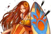 (The art of) League Of Legend / Here ill put the all ilustrations made by riot for your champion`s skins