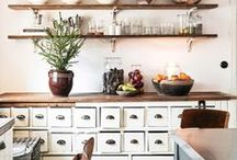 Design - Interior Kitchens / Small kitchen design ideas mostly with gray and/or white