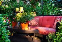 Outdoor Living/Garden / Great inspiration for outdoor living involving great places to sit and relax or just the pleasure of a great view
