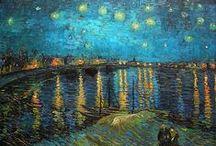 Art of Van Gogh / The art of Vincent Van Gogh a Dutch, Post-Impressionist painter 1853-1890