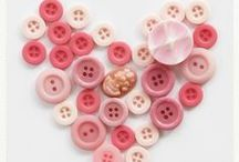 Buttons / A love of buttons of all shapes and sizes and crafts that can be done with them