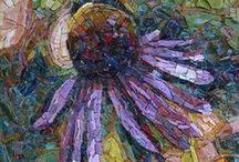 Mosiacs / Artistic mosaic images created with many types of mediums