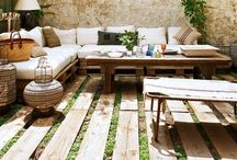 nest ↟ outdoor living / backyard decor, outdoor living, garden ornaments, garden living, outdoor furniture, outdoor rooms, patios, decks, terraces
