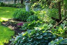 "Outdoor Inspiration / ""To plant a garden is to believe in tomorrow"" - Audrey Hepburn"