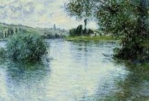 Art of Claude Monet / Art from the fabulous French artist Claude Monet who was greatly inspired by gardens in his paintings.