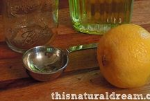 natural ↟ cleaning / Natural cleaners, homemade cleaners, diy cleaning, organic cleaners, chemical free cleaning, chemical-free life