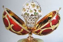 Art of Carl Faberge / Inspirational photos of the works of the artisans working for Carl Faberge.  Mainly showing the Faberge Eggs.