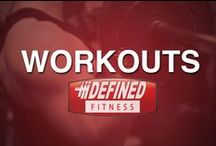 Workouts / Workout tips and ideas for in the gym, at home, and the office. Defined Fitness is here to help all levels of fitness.