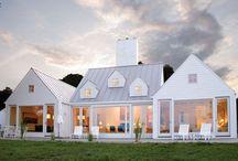 nest ↟ modern farm / Farmhouses, modern farmhouse, architecture, interior design, family home, farm landscape, agricultural, rustic