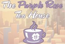 The Purple Rose Tea House / My blog promoting authors and guests of the LGBT Romance genre. Hosting blog tours, guest spots, cover reveals, spotlights, giveaways, and more. http://purpleroseteahouse.charliecochet.com/ / by Charlie Cochet