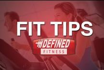 Fit Tips / The training staff at Defined Fitness is here to help you reach all of your #fitness goals. Fitness tips for all levels of fitness.
