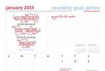 fit goals: tools for the goal getter / get your monthly #goalsetting calendars, #ebook downloads, and other #fitbook items here.