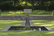garden ↟ water / Pools, ponds, water features, gardens with water, waterscape, fountains, rainwater, stormwater