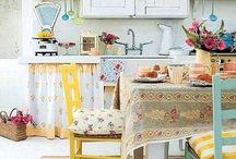 Keittiö - Kitchen / Kodin sydämen remppaideoita ja väliaikasia ratkaisuja vanhaan