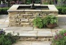Rustic and Antique Style Natural Stone Paving / Ideas for rustic and antique style natural stone paving period properties and cottage garden patio's and paths.