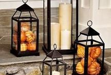 Porch Inspiration / Seasonal porch decor is such a fun way to welcome guests into your home. Here's a little inspiration!