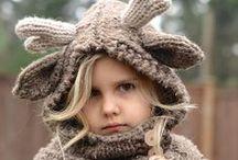 Fibre - Knits for Babies & Children / Knit garments and toys for babies and children