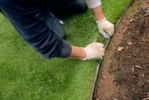 Guide - How to install artificial grass / A guide on how to measure for and install artificial grass. For the full, indepth article, please go to our website.  http://www.awbsltd.com/how-to-guides/how-to-install-artificial-grass/  #artificial #grass #guide