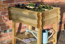 Gardens for elderly or impaired / A collection of ideas on how to make beautiful gardens for the elderly or impaired by using non slip tiles, low maintenance design and seating ideas.