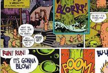 Calvin and Hobbes - Paavo ja Elvis/Lassi ja Leevi / Nää on mahtavia!!!