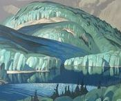 Art of AJ Casson Group of Seven / Paintings by Alfred Joseph Casson a member of the Canadian Group of Seven
