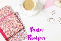 Pasta Recipes / Pasta recipes. Simple pasta dishes. one pot pasta meals. Noodle inspiration.