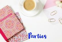 Party Inspiration / Party inspiration. Party ideas. Birthday parties. Holiday parties.