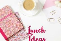 Lunch / Lunch Ideas. Lunch recipes. Sandwiches. Salads. Lunch.