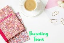 Parenting Teens / Parenting Teens. Teenage years. Teen tips and tricks. Parenting a teenager.
