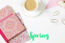 Spring / Spring Time. Spring inspiration. Flowers. Spring with kids. Easter