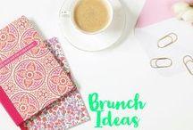 Brunch / Brunch ideas. brunch recipes. best brunch places.