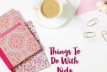 Things to do With Kids / kid friendly activities. Fun kid's games. Outside play time. Kid Crafts.