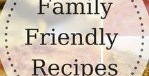 Family Friendly Recipes / This is a group board for the best family friendly recipes!  Easy weeknight meals, one pot dishes, slow cooker meals...  Please repin for every pin you add to the board. Email TheCoffeeMom0617@Gmail.com with your Pinterest email and name to be added to the board!