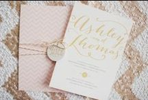 * ma r i a g e*  jolis faire-parts & save the date / Wedding invitations & save the date / by Indoors