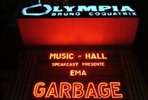 Lettres de feu du Music Hall