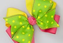 ⭐️Bows ~ Hair Clips ~ Ribbons⭐️ / by Rafaela Loyola ✿