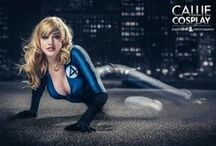 COSPLAY ● Invisible Woman