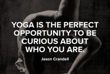 All About Yoga / It's all in the title - things about yoga that catch my eye and make me smile