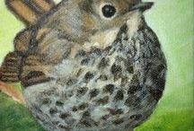 ptaki artystyczne ozdoby