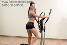 Ellipticals and Cross Trainers