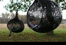 Must have... One day... / #hanging #tree #chair