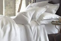 Classic White / white bedding..classic..beautiful...never goes out of style