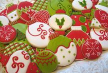 Xmas cookies recipes and decorate / Beautiful cookies decorated with royal icing - Xmas theme
