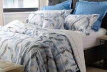 Blue / create a soothing personal retreat with the color blue - mix patterns and shades to keep things interesting