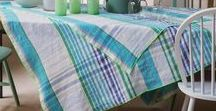 Table - Print and Jacquard / printed table linens