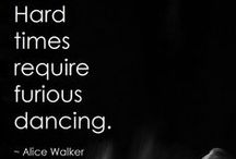 Dance / A passion my body's not capable of fulfilling but through the Magick of others I can still enjoy
